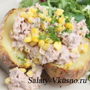 Салат Tuna Sweetcorn